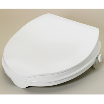 Savanah Raised Toilet Seat 5cm/2 with Lid