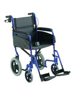 Invacare Alu Lite transit only Attendant controlled Wheelchair