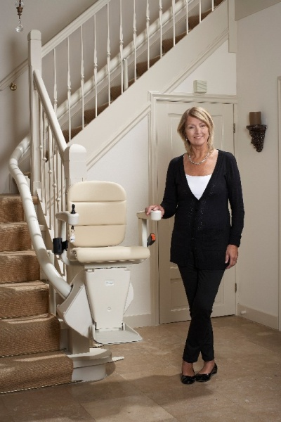 <strong>Freelift Rembrandt Curved Stairlift</strong> with 2 year Warranty