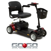 Pride Go-GO Elite Travellar 17 amp 4 Wheel