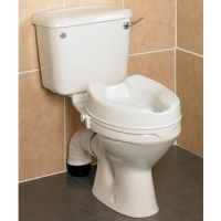 Savanah Raised Toilet Seat 5 1/4 Inch High
