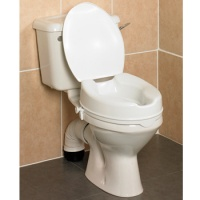 Savanah Raised Toilet Seat 4cm/4 with Lid