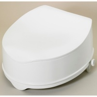 Raised toilet seat savanah 15cm/6 with Lid