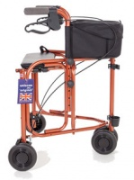 Uniscan Triumph 3 Wheeled Walker with Seat